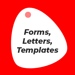 Forms, Letters & Templates